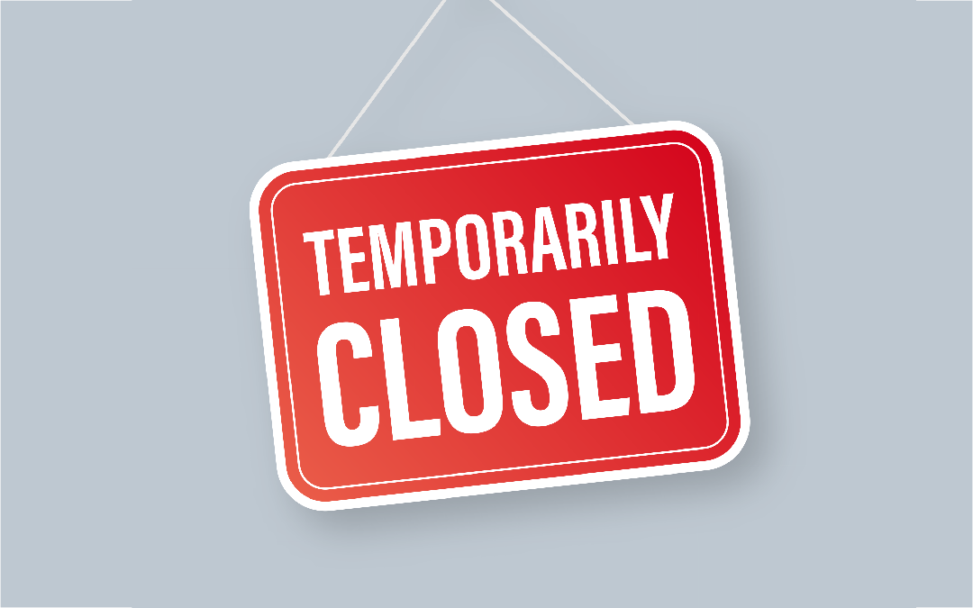Office temporarily closed